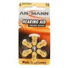 Батарейка Ansmann PR10 / PR70 (1.4V Zinc-Air) * 6 (5013223)
