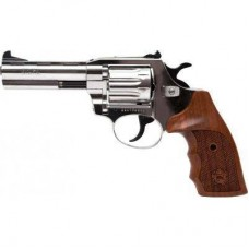 Револьвер под патрон Флобера Alfa 441 (никель, дерево) (144919/2)