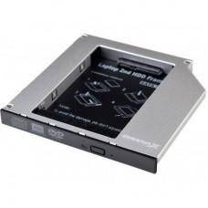 Фрейм-переходник Grand-X HDD 2.5'' to notebook 12.7 mm ODD SATA3 (HDC-27)