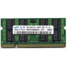 Модуль памяти для ноутбука SoDIMM DDR2 2GB 800 MHz Samsung (M470T5663QZ3-CF7 / M470T5663QZ3-CE6)