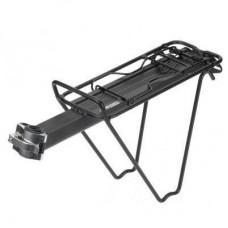 """Багажник велосипедный XLC RP-R07, 24-29"""" черный, консольный (2500600600)"""
