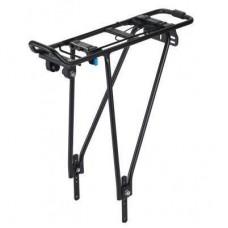 """Багажник велосипедный XLC RP-R10, 26-28"""" черный, под диск (2500603000)"""