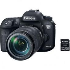 Цифровой фотоаппарат Canon EOS 7D Mark II 18-135 IS USM Kit (9128B163)