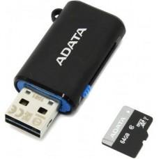Карта памяти ADATA 64GB microSD class 10 UHS-I (AUSDX64GUICL10-ROTGMBK)