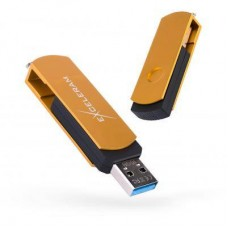 USB флеш накопитель eXceleram 16GB P2 Series Gold/Black USB 3.1 Gen 1 (EXP2U3GOB16)