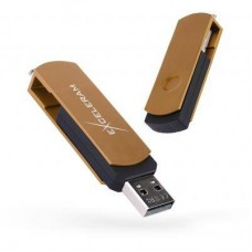 USB флеш накопитель eXceleram 16GB P2 Series Brown/Black USB 2.0 (EXP2U2BRB16)