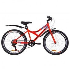"Велосипед Discovery 24"" FLINT Vbr рама-14"" 2019 оранжевый (OPS-DIS-24-135)"