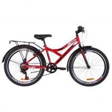 "Велосипед Discovery 24"" FLINT MC Vbr рама-14"" 2019 красно-белый с черным (баг.) (OPS-DIS-24-127)"