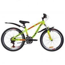 "Велосипед Discovery 24"" FLINT AM Vbr рама-13"" 2019 зелено-красный (OPS-DIS-24-117)"
