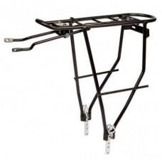 Багажник велосипедный Velotrade регулируемое крепление KAIWEI алюминий черный KW-508-02 (CAR-023)